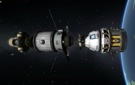 Kerbal Space Program : Docking Manuever